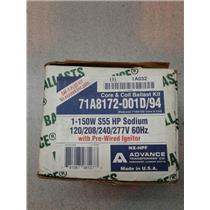 Advance 71A8172-001D/94 Core & Coil Ballast Kit