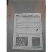 """Fsr FL500P & FL600O Floor Box (6"""" Depth)"""
