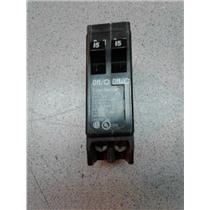 Cutler-Hammer DNPL1515 2 Pole 15 Amp Circuit Breaker