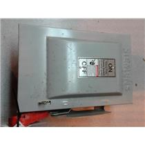 Siemens HNF261 30A 2P 600V 2W Non Fused Heavy Duty Safety Switch