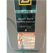 Square D 40275-870-01 Heavy Duty Safety Switch 100A