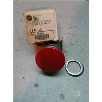 Allen Bradley 800T-FX6A5 Push Button, 2 Position Push-Pull, Red Cap