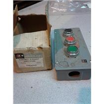 Cutler-Hammer 10250TN3 Control Element Enclosure, Oiltight