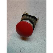 Allen Bradley 800T-XA Heavey Duty Red Push Button