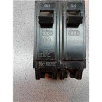 General Electric THQL21100P 100 Amp 2 Pole Circuit Breaker