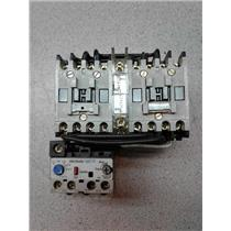 Allen Bradley (2) 100-A09ND3, 193-A2D1 Mechanical Component And Overload Relay