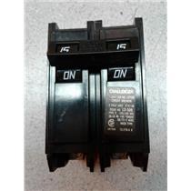 Challenger C215 2 Pole 15 Amp Circuit Breaker