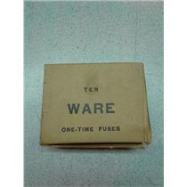 Ware Fuse Copr. 66-10 10 Amp 600 Volts On Time Fuses 10 Pc.