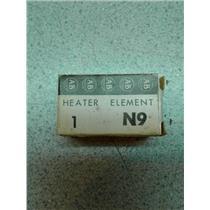 Allen Bradley N9 Overload Relay Thermal Unit