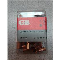 Gardner Bender 10-311C Copper Crimp Connectors  50 Pc.