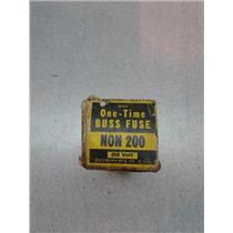 Bussman NON 200 Tone Time Buss Fuse