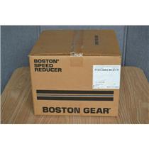 BOSTON GEAR 60:1 RATIO WORM SPEED REDUCER, F721X-60KZ-B5-G1-T1