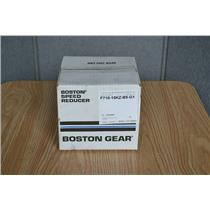 Boston Gear 10:1 Ratio Worm Gear Speed Reducer, F710-15KZ-B5-G1