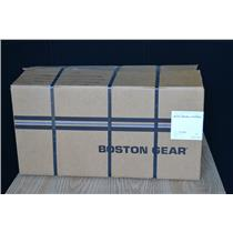 BOSTON GEAR 25:1 RATIO WORM SPEED REDUCER, QC721-25K-B5-J1-FUTFB-9