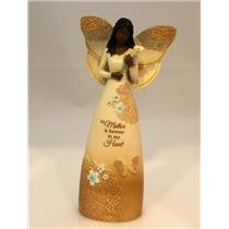 Pavilion Gift Company Mother is Forever in My Heart Ebony Angel Figurine 19100NB