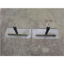 "Boaters Resale Shop of TX 1711 0441.01 PAIR OF 24"" TRIM TABS & ACTUATORS"