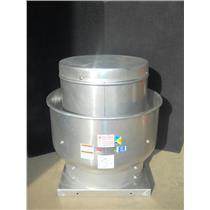 "DAYTON Upblast Ventilator,Spun Aluminum,Wheel Dia.11"",Shaft Dia.Wheel End 3/4"""