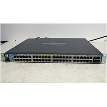 HP ProCurve J9148A 48-Ports Ethernet Switch 2910al-48G-PoE+ Managed Gig PoE USED