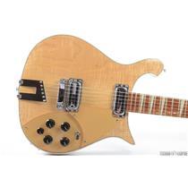 2002 Rickenbacker Model 660 Electric Guitar Natural Mapleglo w/ Hard Case #31332