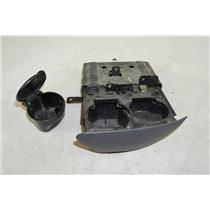 2000-2002 Ford F150 Expedition Navigator Dual Cup Holder w/ Ashtray Gray