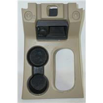 2006-08 Ford Explorer Shift Floor Trim Bezel Cup holders w/ 12V & Open Storage