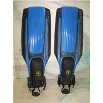 Boaters' Resale Shop of TX 1801 0742.01 TECHNISUB STRATOS MEDIUM SIZE DIVE FINS