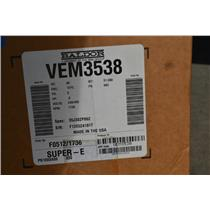 Baldor SuperE 1/2HP Motor, 230/460V, 1735RPM, 3PH, 60HZ, 56C, TEFC, VEM3538