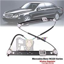 Front Right Electric Power Window Regulator For Mercedes Benz S-Class W220 99-06