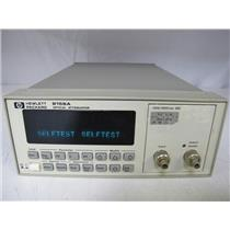 Agilent HP 8156A Optical Attenuator opt 101 (HIGH PERFORMANCE VERSION)