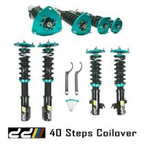 DD 40-Steps Adjustment Coilover Shock Kit Suit Subaru Impreza GC8 WRX STi 93-02