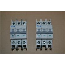 (LOT OF 2) EATON WMZT3D20 CIRCUIT BREAKERS, 3 Pole, 20A, 480/277V