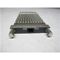 Cisco CFP-40G-SR4 CFP transceiver module - 40 Gigabit Ethernet, Genuine