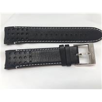 Seiko Original Watch Band Mod# SSC361,SRG019, Band# LOCE B 21.Curved End Leather