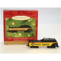Hallmark Keepsake Ornament - 2001 Chessie Tender - Lionel Trains - #QX6285