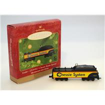 Hallmark Keepsake Ornament - 2001 Chessie Tender - Lionel Trains - #QX6285-DB