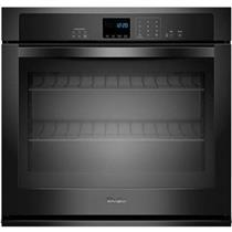 "whirlpool 27"" 4.3 Cu. Ft. Capacity Black Single Electric Wall Oven WOS51EC7AB"