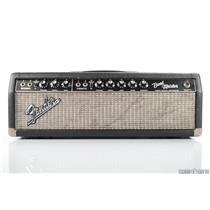 1965 Fender Bandmaster Blackface Tube Guitar Amplifier Head Amp #31506