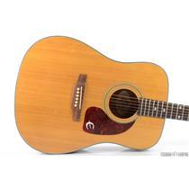 Epiphone PR-350NA Dreadnought Acoustic Guitar Natural Made in Korea 350 #31519