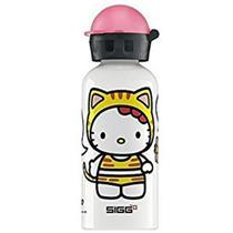 SIGG Hello Kitty Tiger Water Bottle, White, 0.4-Liter