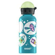 Sigg Water Bottle - Glo Monster - Teal - .4 Liter