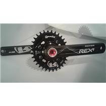 NEW Rotor Rex 1.1 QX1 Crankset 175mm 32 11s QRings Oval