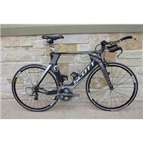 2011 Scott Plasma Premium Carbon Tri Bike w/ Dura Ace - 54cm/Medium