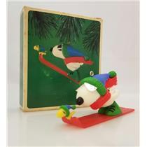 Hallmark Ornament 1984 Snoopy and Woodstock - Peanuts Gang - #QX4391-SDBWW