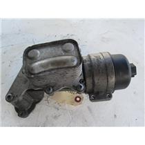 Mini Cooper oil filter housing and cooler