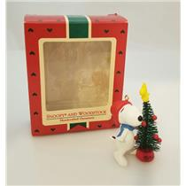 Hallmark Ornament 1987 Snoopy and Woodstock - Peanuts Gang - #QX4729-DBNT