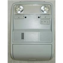 2007-2010 Volkswagen Jetta Overhead Console w/ Map Lights & Door Light Switch