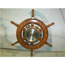Boaters' Resale Shop of TX 1802 0725.01 SHIPS TIME QUARTZ ELECTRIC (AA) CLOCK