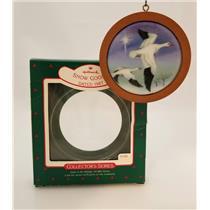 Hallmark Series Ornament 1987 Holiday Wildlife #6 - Snow Goose - #QX3717-DB