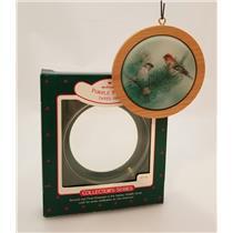 Hallmark Series Ornament 1988 Holiday Wildlife #7 - Purple Finch - #QX3711