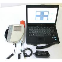 Canberra InSpector 1000 MCA Radiation / Isotope Analyzer w IPROS-2 Probe, Laptop